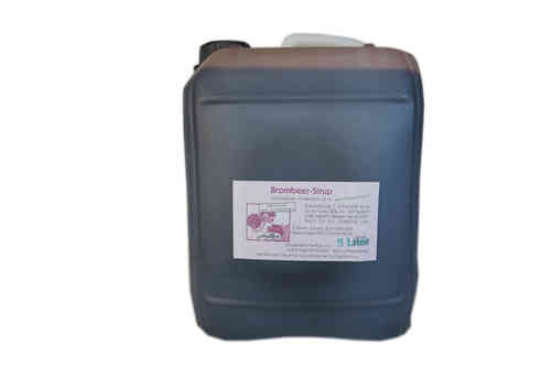 Brombeer Sirup 5 l