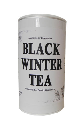 Aromat. Schwarztee Black Winter Tea 100 g Dose